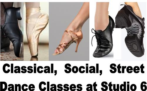 Ballroom Latin Swing Ballet Tap Jazz Hip Hop Dance at Studio 6 Ballroom Event Hall and Studios1 Welcome to Studio 6 Ballroom!